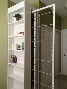 White, four frames drying rack
