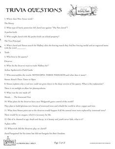 Spiderwick Trivia
