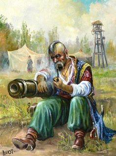 Демарш: Украинские казаки-характерники: слава и мужество, приукрашенные легендой