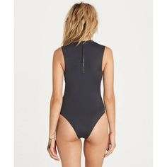 Rock retro, high-cut legs in this muscle tee-inspired, one piece surf suit. Part of the Billabong Surf capsule Collection, function and edgy fuse tog...