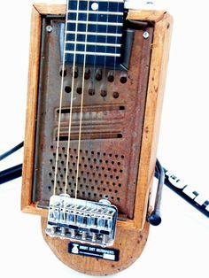 cool handmade guitar.