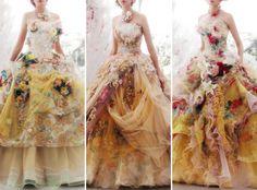 "chandelyer:  ""wedding gowns by Stella De Libero  ""  Love these Stella De Libera gowns @pinterestluxury"