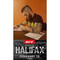 From @kingofdonair  Halifax fight fans our favourite vegan and Ship Cove's own Gavin Tucker just signed his first UFC contract! Those of you who've seen Gavin fight know that this is going to be an action packed fight. Those of you who have not seen him fight get your UFC tickets now before they sell out as you'll be in for a treat.  Stay tuned for a TICKET GIVEAWAY!!  #ufc #ufchalifax #undefeated #gavintucker #newfoundland #shipcove #halifax #fightfans #gtuck #novascotia #wutang @seanshelby…