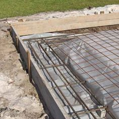 Concrete slab foundations for your container project are the largest, and most expensive type of foundation that you can build. Metal Barn Homes, Metal Building Homes, Building A New Home, Building Ideas, Pouring Concrete Slab, Concrete Building Blocks, Concrete Slab Foundation, Storage Containers For Sale, Concrete Patio Designs