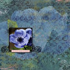 Made with Marisa's When Flowers Bloom Bundle and parts of Template 513