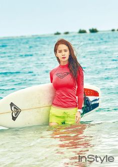 Song Ji Hyo Is All Good In 'Instyle'! Full Set Of Photos! | Daily K Pop News Instyle Magazine, Korean Celebrities, Ji Hyo Song, Song Joong Ki, Ji Hyo Running Man, Hot Song, Korean Variety Shows, Summer Body, Korean Actresses