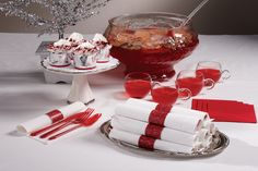 NEW Red Glitz CaterWrap from Hoffmaster #119998 Pre-rolled FashnPoint Napkin includes Fork, Knife & Spoon