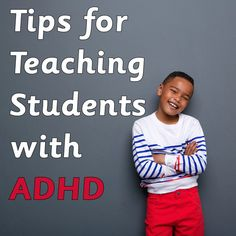Teaching students with ADHD can be a real challenge for teachers. ADHD, which stands for attention deficit hyperactivity disorder, is a psychiatric disorder tha
