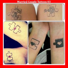 Married Couple Tattoos 03