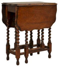 English    Gate-Leg Table, C. 1900