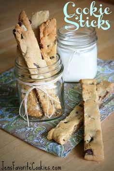 Chocolate Chip Cookie Sticks