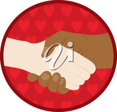 Clip Art Illustration Of Hands Shaking #2617851 | Clipart.com Valentines Day Clipart, Clipart Images, Royalty Free Images, Illustration Art, Clip Art, Kids Rugs, Hands, Vector Clipart, Kid Friendly Rugs
