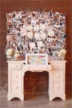 you and me photo wall http://www.weddingchicks.com/2013/10/11/alabama-wedding/