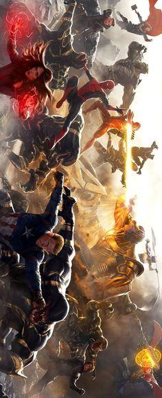 batalla final de fin de juego Marvel Dc Comics, Marvel Avengers, Hero Marvel, Memes Marvel, Marvel Fan, Avengers Fan Art, Die Rächer, Mundo Marvel, Superhero Poster