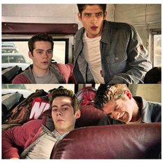 Teen wolfness /sterek hilarity ❤ liked on Polyvore featuring teen wolf