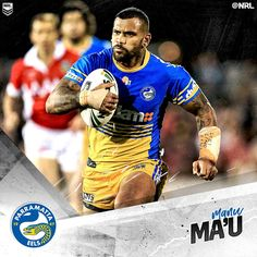 Manu Ma'u was awarded the Ken Thornett Medal as the Parramatta Eels 2016 #NRL Player of the Year. Clint Gutherson was named the Member's Player of the Year, with the Rookie of the Year award won by Bevan French.