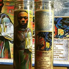 The Dr  IconO Candles by Riz 20.00 johnnyrizzocomic@gmail.com