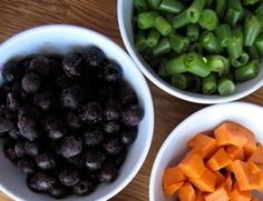 Ideas to get your toddler to eat veggies - good/easy combinations for all meals of the day!