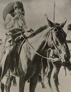 Cowgirl, Texas, 1926