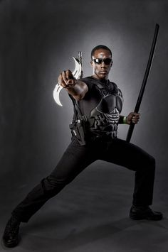 Characters: Blade Cosplay Series: MARVEL Comics
