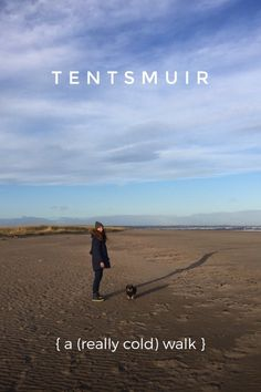 A really (really) cold walk at Tentsmuir in Fife on @stellerstories