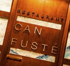 Can Fusté, a good balance between high quality ingredients and a simple display.