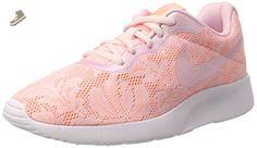 NIKE WOMENS TANJUN ENG SHOES PINK PEARL PINK SUNSET GLOW SIZE 7 - Nike sneakers for women (*Amazon Partner-Link)