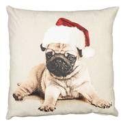 Living Space Festive Santa Paws Cushion