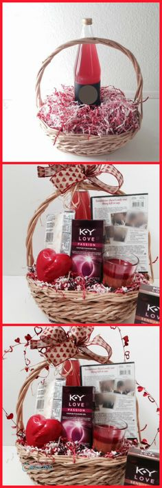 A Day In Candiland   Create a Romantic Date Night Gift Basket with Tutorial   http://adayincandiland.com