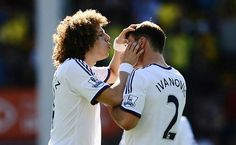 David Luiz & Ivanovic