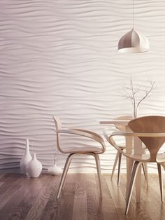 abstract wall panels f - Deco Garden-Design White Shiplap, Tv Wall Design, Dining Room Walls, Dining Area, Living Room, 3d Wall Panels, Plank Walls, Fireplace Wall, Decorative Panels