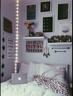 ;; layout for pictures and shelves above bed