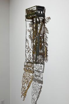 Her current series, Ammunition, contrasts beautiful patterns and imagery with utilitarian objects that include ammunition boxes and sewer pipes. Plasma Cutting, Metal Girl, Everyday Objects, Beautiful Patterns, Metal Working, Clock, Sculpture, Screens, Gates