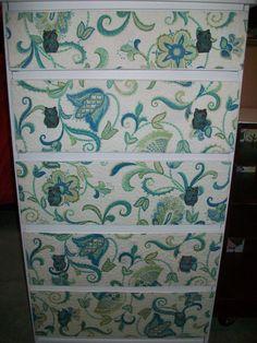 Fun owl dresser by FeatherThyNest on Etsy.com.