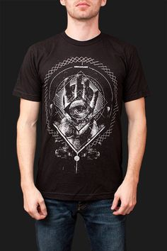 """I may have to buy this t-shirt for myself. This """"Vibration"""" shirt is inspired by Bill Hicks and it's gnarly."""