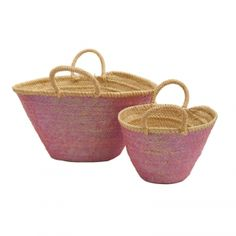 330d5f9855 beach Baskets Sequin Mum and Baby Pink French Baskets