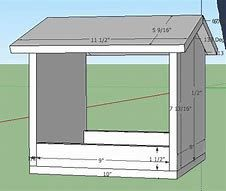Image result for Cardinal Bird House Plans