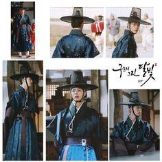 Luv the outfits! Korean Wave, Korean Star, Moonlight Drawn By Clouds, Kim Yoo Jung, Lee Young, Bo Gum, Drama Series, Traditional Outfits, Kdrama