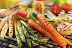 Groentjes Op De Barbecue Heerlijk