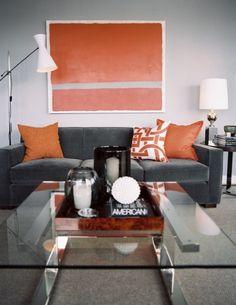 Even though I do not like orange. I'm feeling the colors here..