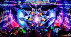 Psychedelic Decor, Stage Design, Party Photos, Trance, Goa, Festivals, Decorating Ideas, Design Inspiration, Decorations
