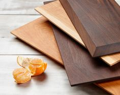 Cherry Wood Serving Board, Cheese Board, Cutting Board, Bevel Edge, Centre Piece
