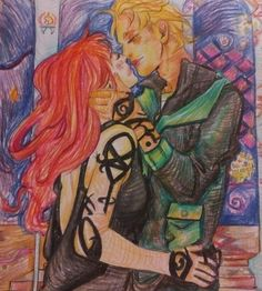 Mortal instruments coloringbook