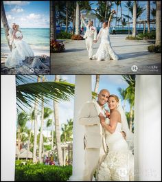 Destination Wedding In Punta Cana Dominican Republic At Barcelo Bavaro Palace Deluxe Featured On Say