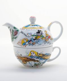 Take a look at this Alice in Wonderland 16 oz. Tea for One Set  by Cardew Design on #zulily today!