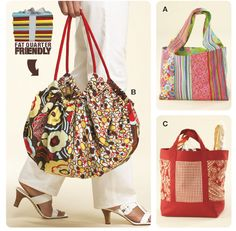 Free Sewing Patterns for Bags & Totes