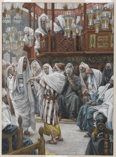 """Then he said to them,""""Is it lawful to do good on the sabbath rather than to do…"""