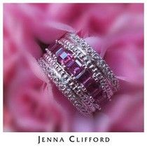 jenna clifford jewellery brands list at DuckDuckGo Wedding Engagement, Wedding Rings, Engagement Rings, Jenna Clifford, Pink Ring, Diamond Are A Girls Best Friend, Jewelry Branding, Stone Jewelry, Jewelery
