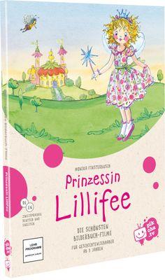 Willkommen in Prinzessin Lillifees zauberhafter Welt! Hier erlebt sie mit Schwein Pupsi, Einhorn Rosalie, den Mäusen Cindy und Clara und all ihren anderen Freunden spannende Geschichten, in denen es um Hilfsbereitschaft und Freundschaft geht.  Die sechs schönsten Prinzessin Lillifee-Bilderbuch-Filme auf einer DVD in der neuen Sonderedition von pikcha.tv!