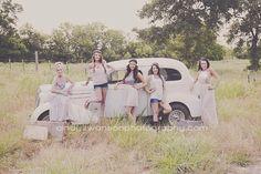 Senior Model rep for Cindy Swanson! Senior Pictures 2014-2015 #senior #Seniorpics #photography old vintage car, boho, vintage, dress, curly hair, short hair, senior pics,